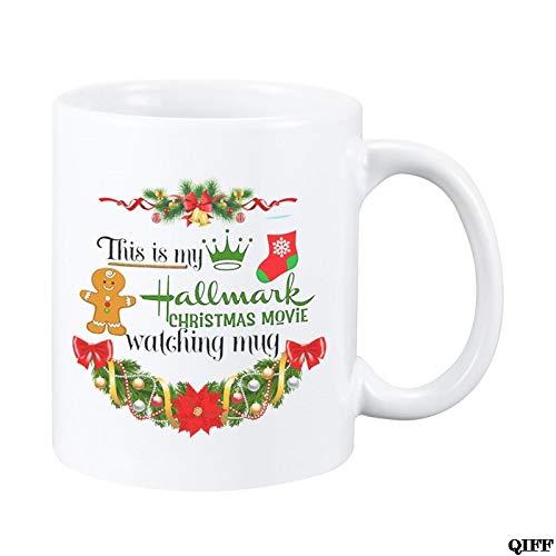 This Is My Hallmark Christmas Movie Watching Mug Tea Cup Ceramic Coffee Mug
