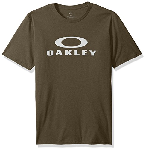 Oakley Men's 50-bark Ellipse Tee, Dark Brush, ()