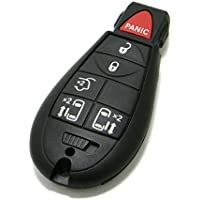 OEM Chrysler Town & Country 6-Button FOBIK Key Fob Remote (FCC ID: IYZ-C01C, P/N: 68066868, 56046704)