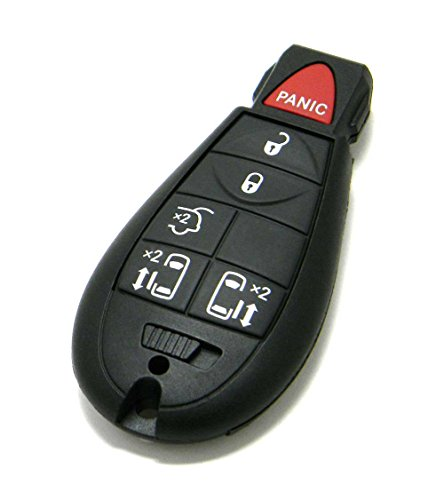 OEM 6-Button FOBIK Key Fob Remote Compatible With Chrysler Town & Country (FCC ID: IYZ-C01C, P/N: 68066868, 56046704)