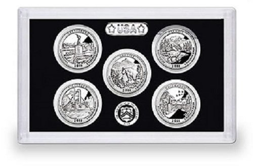 2011 Silver Proof National Parks Quarter Set – NO BOX
