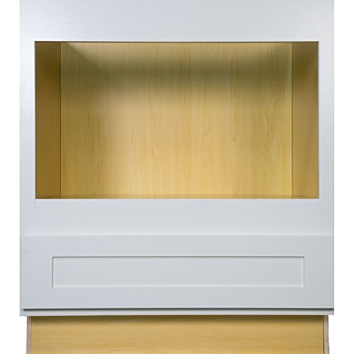 Ready To Assemble Kitchen Cabinets Made In Usa: Everyday Cabinets 33 Inch Microwave Base Cabinet In Shaker