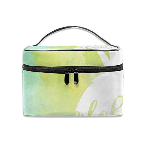 Washing Bag Pineapple Aloha Fashion Printing Large Capacity Travel Storage Bag Wash Bag with Handle]()