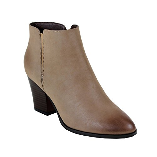 Reneeze BABA-04 Womens Fashionable Stacked Heels Ankle Booti