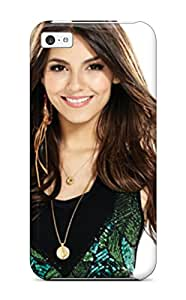 New Premium Flip Case Cover Victoria Justice Skin Case For Iphone 5c
