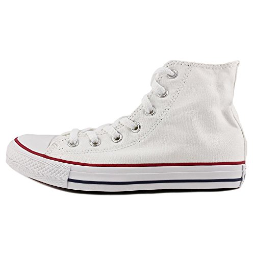 Converse Chuck Taylor All Star Hi Ronde Neus Canvas Sneakers Wit / Rood / Blauw