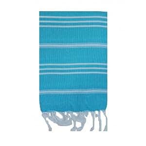 Turkish-T Basic Hand Towel, Aqua