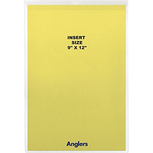 Anglers Sheet Protector (Anglers 1468FL10 Vinyl Envelope With Flap, 9