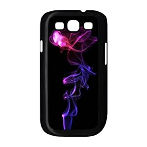 Purple Smoke Samsung Galaxy S3 9300 Cell Phone Case Black DIY GIFT pp001_8111048