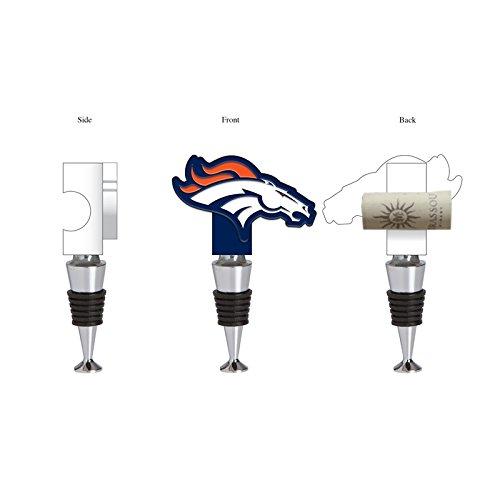 (Team Sports America Denver Broncos Hand-Painted Team Logo Bottle)