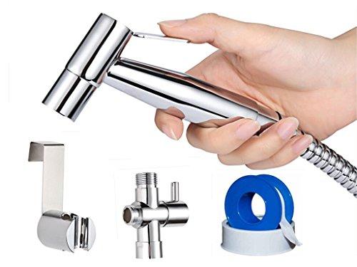 Beautifulhouse Stainless Steel Chrome Finish Diaper Sprayer Set, Handheld Bidet Sprayer Kit by Beautifulhouse (Image #6)