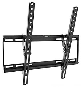 RICOO TV Wall Bracket Tilt N1944 Universal LED Curved QLED QE 4K LCD OLED SUHD UHD Television Mount Flexible Adjustable Mounting/26 – 65″ Inch/VESA 100×100 400×400/ – TV brace screws in very awkward position