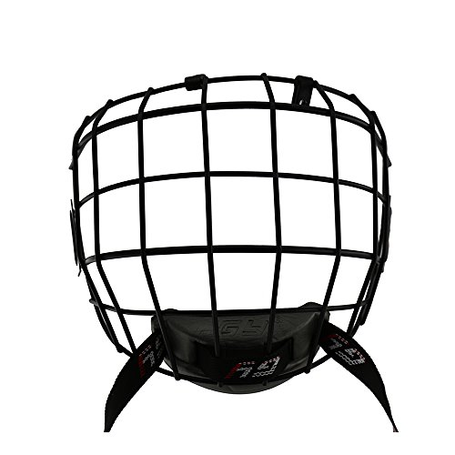 GY A3 High Carbon Steel Ice Hockey Mask Cage Shield For Hockey Helmets Face By CE Certification Free Size