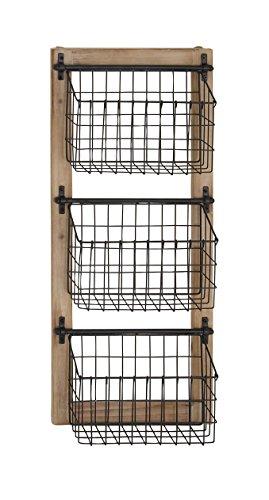 Deco 79 58646 58646 Basket Wall Rack,  ()