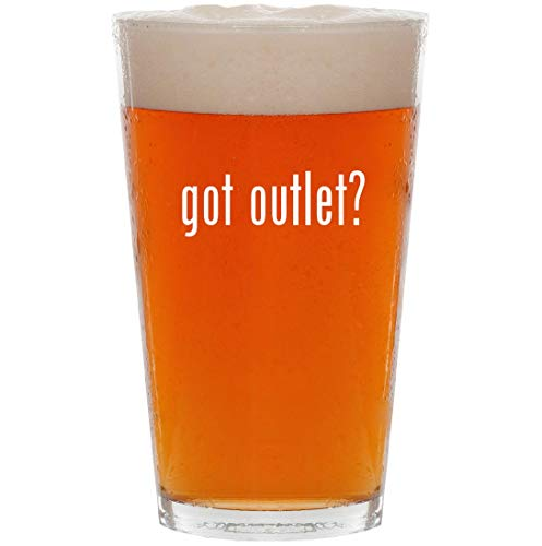 got outlet? - 16oz All Purpose Pint Beer Glass (& Stores Outlet Bourke Dooney)