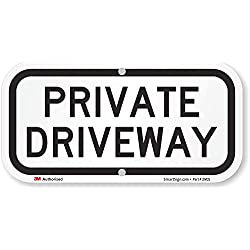 "SmartSign ""Private Driveway"" Sign 