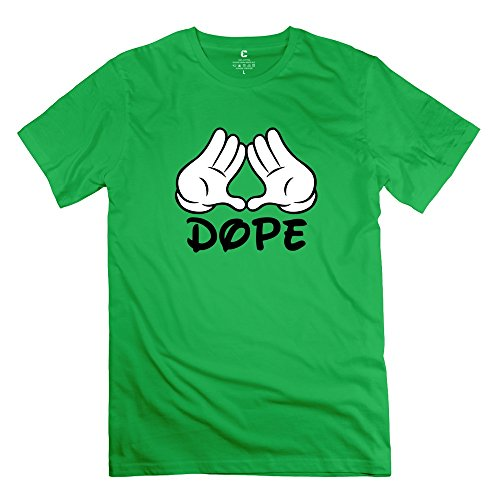 juj-dope-men-crew-neck-tee-shirts-forestgreen-small