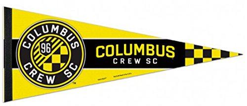 - WinCraft Columbus Crew SC Premium Felt Pennant, 12 x 30 inches