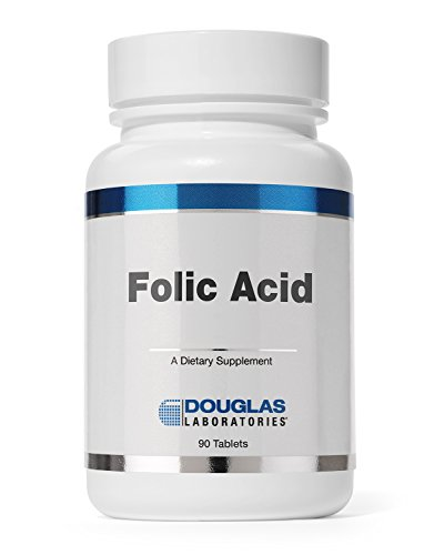 Douglas Laboratories® - Folic Acid 400 mcg. - Water Soluble B Vitamin to Support Energy Production and Pregnancy* - 90 (400 Mcg 90 Tablets)