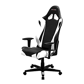 DXRacer RF0 Racing Cubo asiento silla de oficina gaming silla ergonómica (con apoyo lumbar: Amazon.es: Oficina y papelería