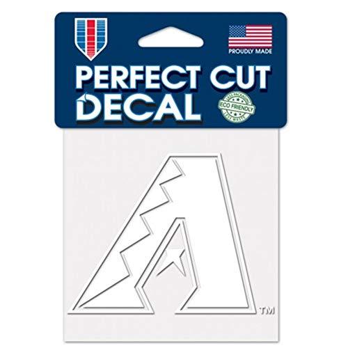 Stockdale Arizona Diamondbacks White Logo WC 4x4 Decal Reusable Vinyl Perfect Cut Baseball