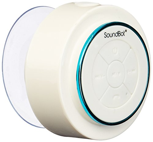 SoundBot SB517 IPX7 Water-Proof Bluetooth Speaker (Blue/White) by Soundbot
