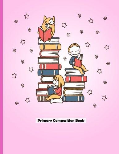 Primaria Composición libro: dibujar y escribir Journal, escuela primaria Composición portátil, escritura y dibujo diario...