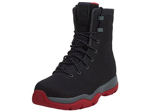Nike Mens Jordan Future Boot Black/Red-Grey Fabric Size 9.5 by Jordan