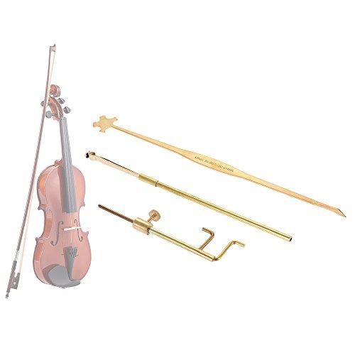 ammoon Violin Luthier Tools Kit Set Sound Post Gauge Measurer & Retriever Clip & Setter Brass by ammoon (Image #1)