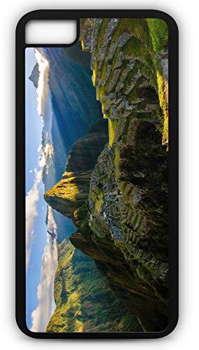iPhone 8 Case Machu Picchu Mountain Ruins Peru Inca Customizable by TYD Designs in Black -