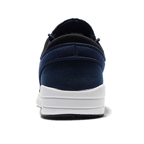 Nike Stefan Janoski Max, Chaussures de Skate Femme Noir (obsidienne / argent métallisé-blanc-noir)