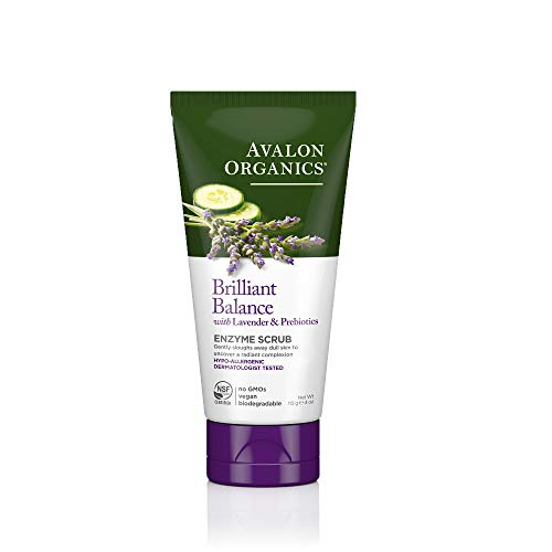 Avalon Organics Brilliant Balance Enzyme Scrub, 4 oz. (Pack of 2)