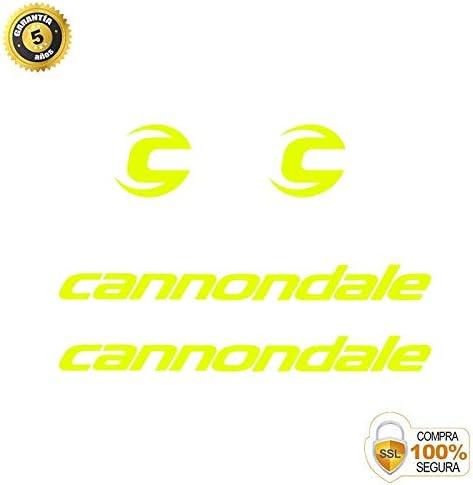 Autocollant d/écoratif de v/élo Ensemble dautocollants de v/élo en Vinyle Cannondale 3 Autocollants Cadre v/élo Autocollants de v/élo