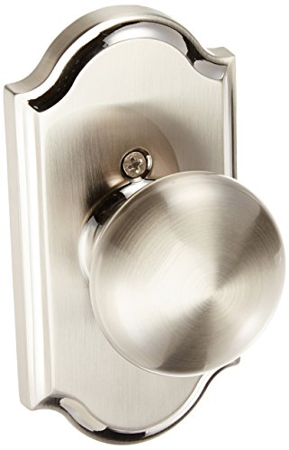 Weslock 01705IN--0020 Impresa Knob, Satin Nickel