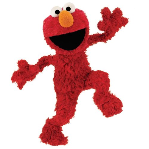 RoomMates RMK1482GM Sesame Street Elmo Peel & Stick Giant Wall Decal
