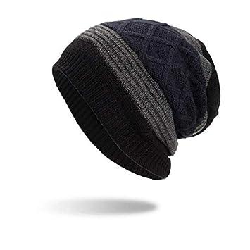4e7fd074e4e HOKUGA Beanies Knit Men s Winter Hat Caps Skullies Bonnet Winter Hats For Men  Women Beanie Warm