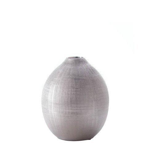 Zeal Round Silver Vase (Vase Jug Bud)