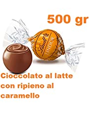 Praline Lindor cioccolatini al latte con ripieno caramello 500 gr Lindt