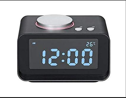 WDDqzf Reloj Despertador Digital Radio FM Reloj Despertador ...
