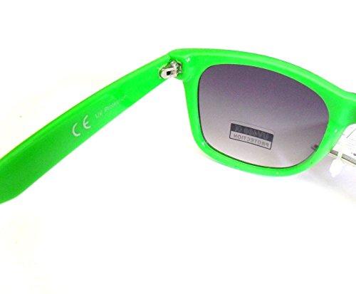 Gafas Nuevas COLORES Filtro efecto degradado UV400 con VARIOS Wayfarer de lente Verde Sol OOqwpr
