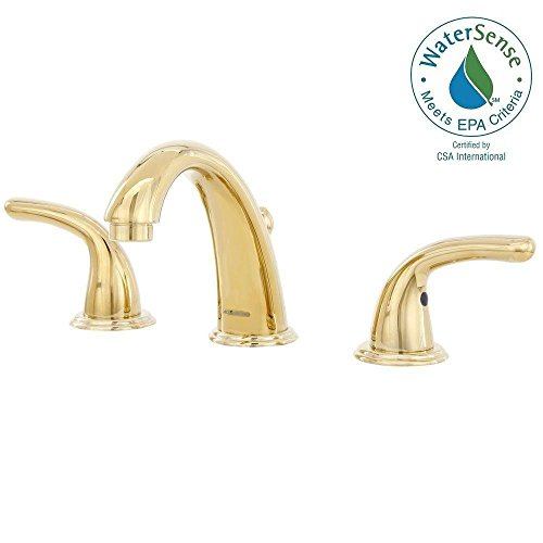 Grohe Polished Brass Widespread Faucet Widespread