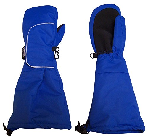 NIce-Caps-Kids-Elbow-Length-Cuff-Waterproof-Thinsulate-Wrap-Snow-Mittens