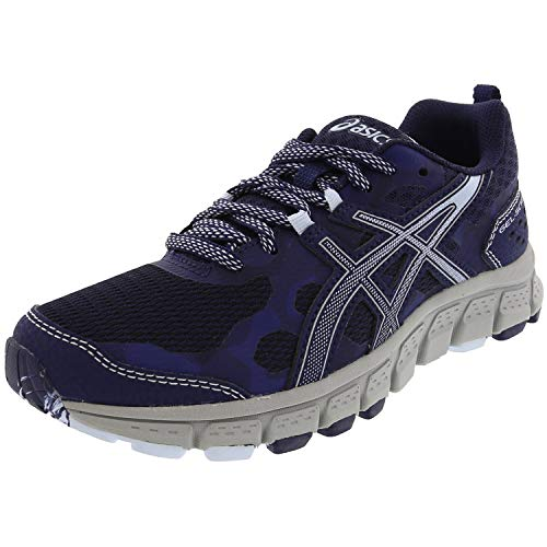 ASICS Women's Gel-Scram 4 Peacoat/Soft Sky Ankle-High Running Shoe - 8.5M