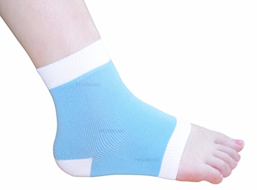 PEDIMEND 2-in-1 PLANTAR FASCIITIS & ANKLE SUPPORT SOCK (One Pair) - Compression Support Sleeve for Foot / Heel / Ankle & Arch – Recover Injury / Reduce Swelling / Arthritis / Pain / Heel Spurs / Increase Blood Circulation / Rehabiliation Brace