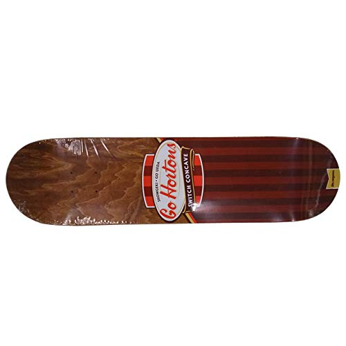 春早割 ショウゲキスケートボード (SHOWGEKI skateboards) SHOWGEKI-GO HORTON (BROWN) skateboards) 7.75 (BROWN) SHOWGEKI-GO B07Q36Z11Y, 西宇和郡:dfc91973 --- kickit.co.ke