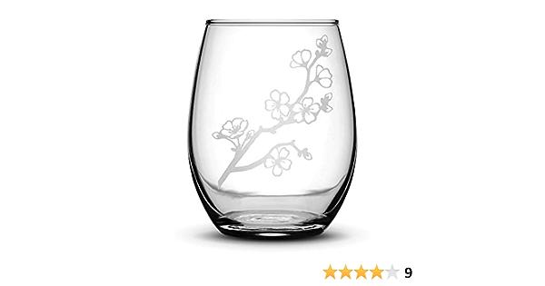 Cherry Blossom Wine Glasses