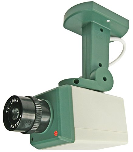 NEW Dummy Security Camera With Motion Detector - Retail