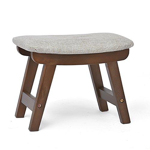 LJHA ertongcanyi Reposapiés de madera maciza / Sofá de la sala de estar Sofá de la mesa de centro / Banco de la casa /...