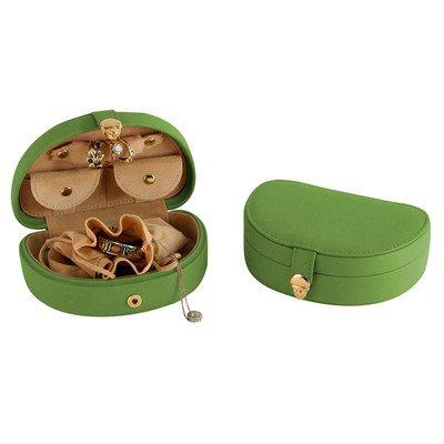 - Mini Jewel Box Leather: Florentine Napa, Color: Green