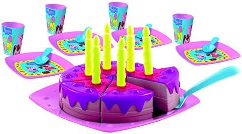 Smoby 7600002633 - Torta de cumpleaños Peppa Pig: Amazon.es ...
